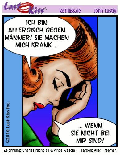Allergisch gegen Männer?