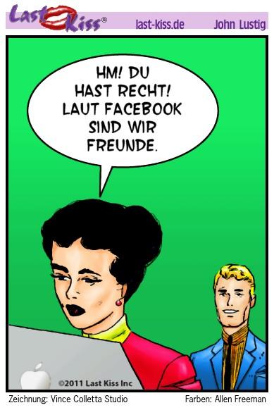 Facebook-Freundschaft